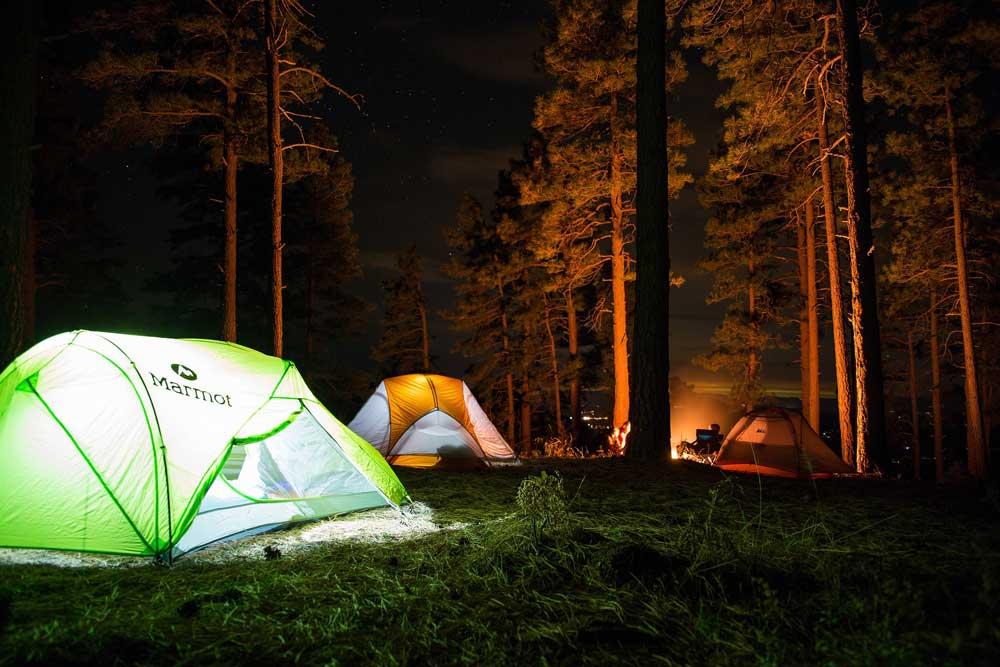 camping sverige telt